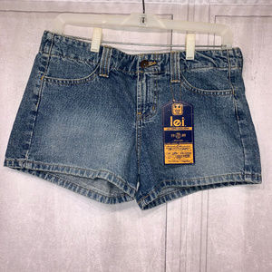LEI NWT Blue Jean Shorts 7